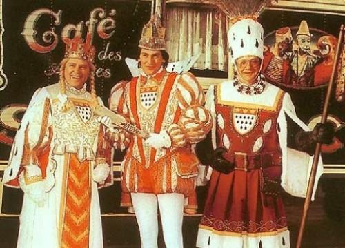 Das Kölner Dreigestirn 1981