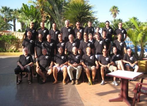Fußkorpstour 2010 nach Marbella