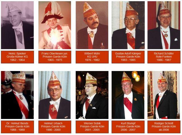 Prinzenführer historisch