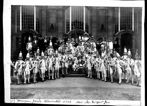 Die Prinzen-Garde Köln im Jahre 1909